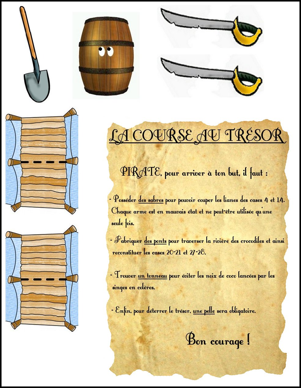 - Idee d enigme pour chasse au tresor ...